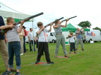 laser clay pigion shooting for team building, corporate parties, stag and hen parties and many other events