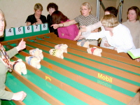 indoor pig racing for team building, charity fund raising, corportate events and private parties