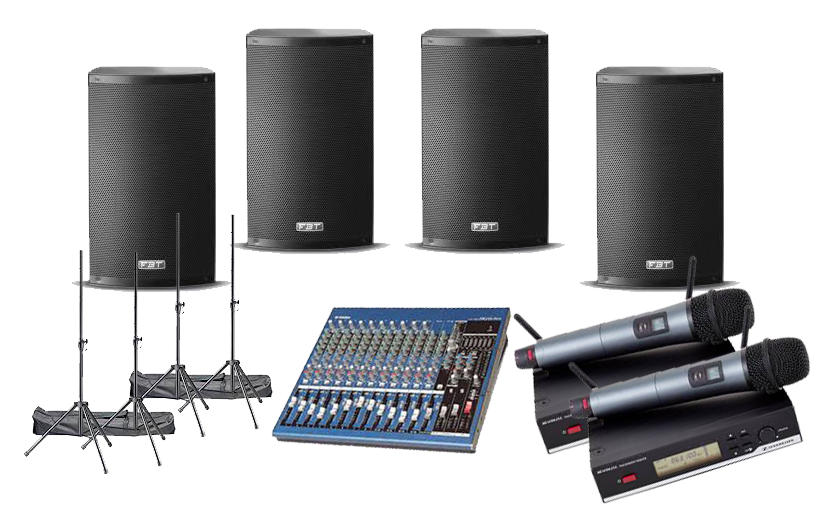 4-speaker-pa-system-hire-uk-event-services