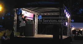 Uk Event Services Outdoor Stage Hire Stage Package